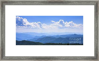 Blue Ridge Mountains Framed Print
