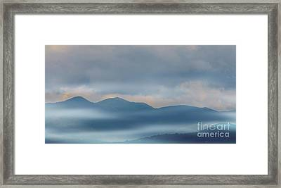 Blue Ridge Mountains Framed Print by Kathleen Struckle