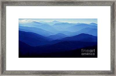 Blue Ridge Mountains Framed Print by Thomas R Fletcher