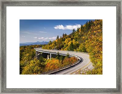 Blue Ridge Parkway Linn Cove Viaduct - North Carolina Framed Print
