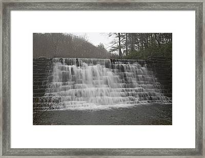 Blue Ridge Parkway Meandering Waters  Framed Print