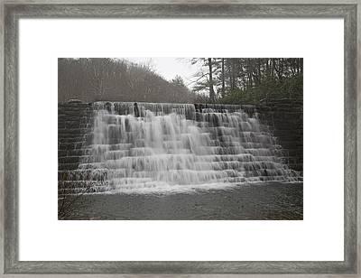 Blue Ridge Parkway Meandering Waters  Framed Print by Betsy Knapp