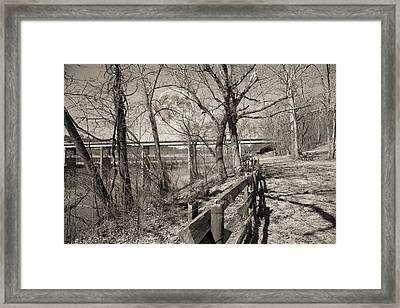 Blue Ridge Parkway Mystic Framed Print by Betsy Knapp
