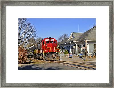 Blue Ridge Scenic Railway Framed Print by Kenny Francis