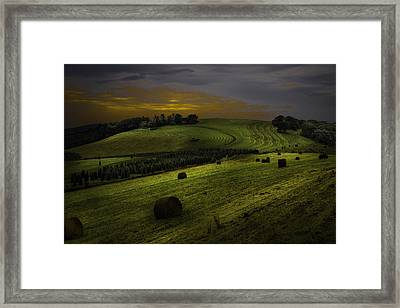 Blue Ridge Vista Framed Print