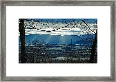 Blue Ridge Winter Solstice 2012 Framed Print
