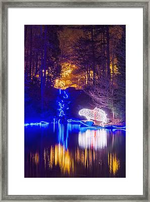 Blue River - Full Height Framed Print