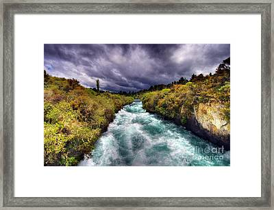 Blue River Framed Print by Colin Woods