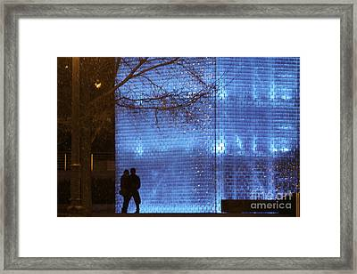 Blue Romance Framed Print