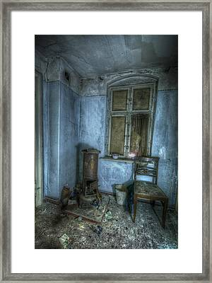 Blue Room Framed Print by Nathan Wright