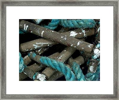 Blue Rope  Framed Print by Bill Marder