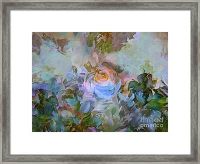 Blue Rose Framed Print