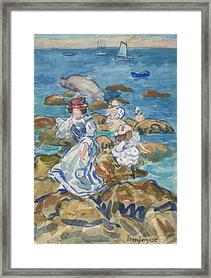 Blue Sea Classic Framed Print