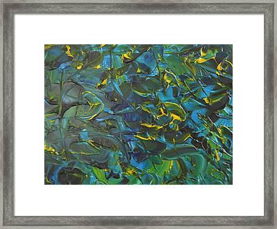 Blue Sea Framed Print by Lisa Williams