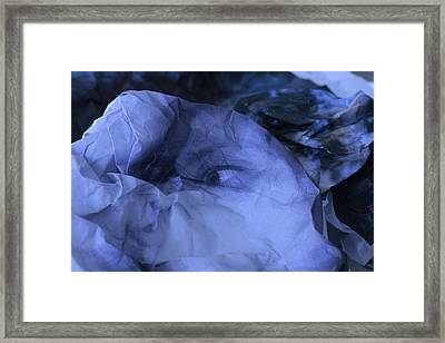 Blue Self Framed Print