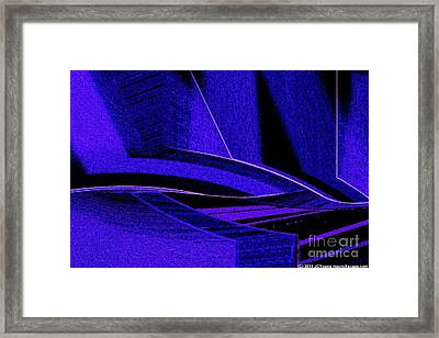 Deep Blue Sharks Framed Print by JCYoung MacroXscape