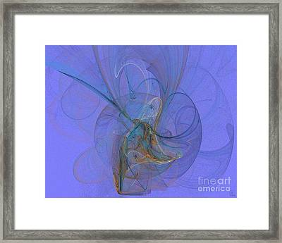 Blue Shell 1 Framed Print