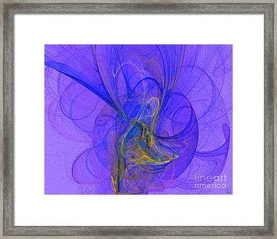 Blue Shell 2 Framed Print