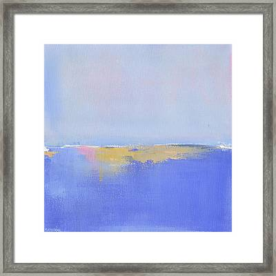 Blue Silences Framed Print