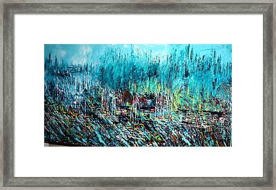 Blue Skies Chicago - Sold Framed Print