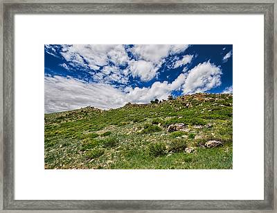 Blue Skies Framed Print by Tony Boyajian