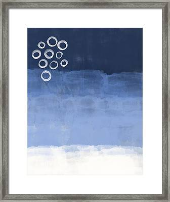 Blue Sky Framed Print by Aged Pixel