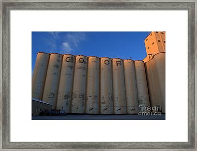blue sky Co-op Framed Print