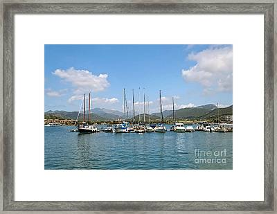 Blue Sky Framed Print by Design Windmill