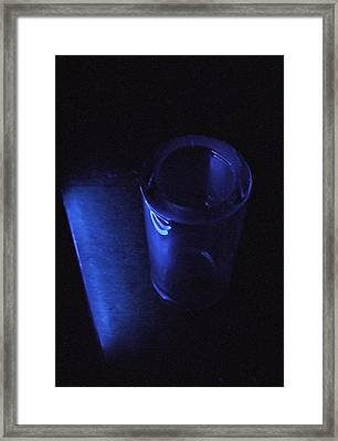 Blue Slide Blues Framed Print by Everett Bowers