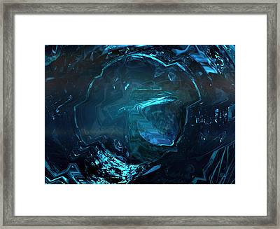 Blue Soul Framed Print by Digital  Hiccup