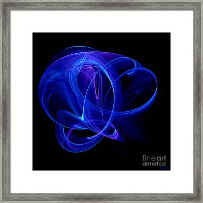 Blue Spirit Framed Print by Hanza Turgul
