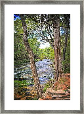 Blue Spring Branch 2 Framed Print by Marty Koch