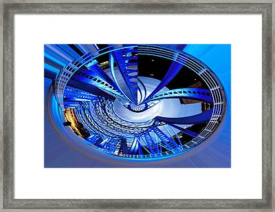 Blue Steel Framed Print