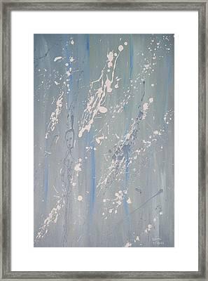 Blue Sushi Framed Print