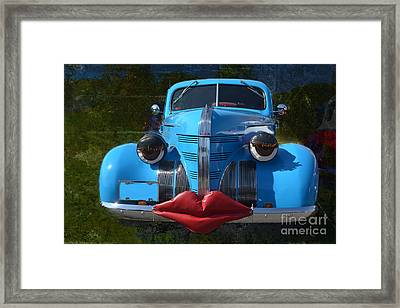 Blue Sweetie Framed Print by Luther Fine Art