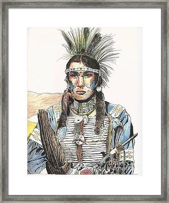 Blue Thunder Framed Print by Bill Hubbard