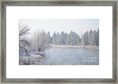 Blue Tint Framed Print by Greg Patzer
