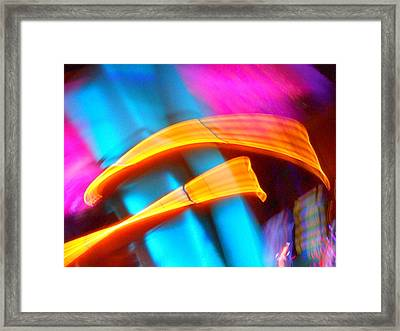 Blue Tonado On Venus Framed Print