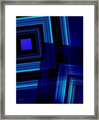 Blue Tones Framed Print by Mario Perez