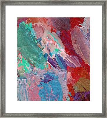 Blue Tunes Framed Print by David Lloyd Glover