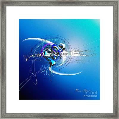 Blue Velvet Framed Print by Franziskus Pfleghart