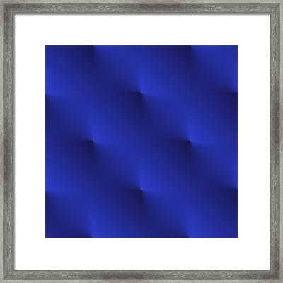 Blue Velvet Framed Print by Valentino Visentini