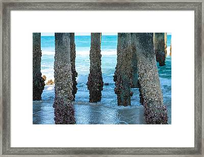 Blue View Framed Print