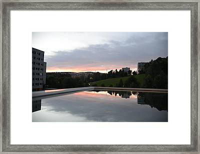 Blue Visions 2 Framed Print