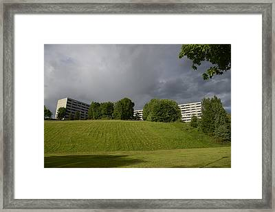 Blue Visions 3 Framed Print