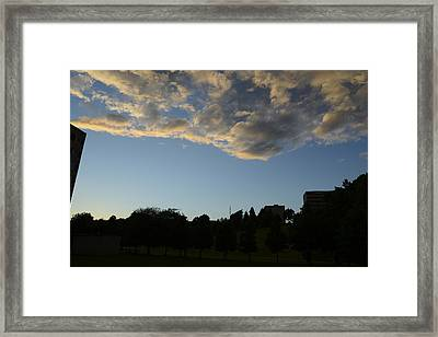 Blue Visions 4 Framed Print