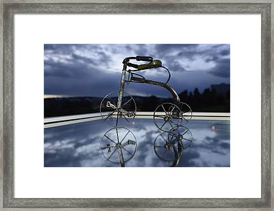 Blue Visions 5 Framed Print