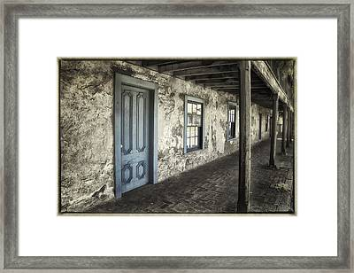 Blue Wing Inn Framed Print