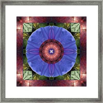 Framed Print featuring the photograph Blue Yonder by Bell And Todd