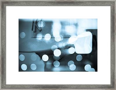 Blue York Framed Print